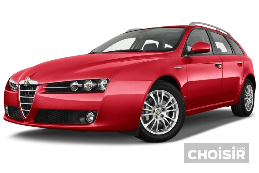 alfa romeo 159 sportwagon 2 4 jtdm distinctive qtronic prix consommation caract ristiques. Black Bedroom Furniture Sets. Home Design Ideas