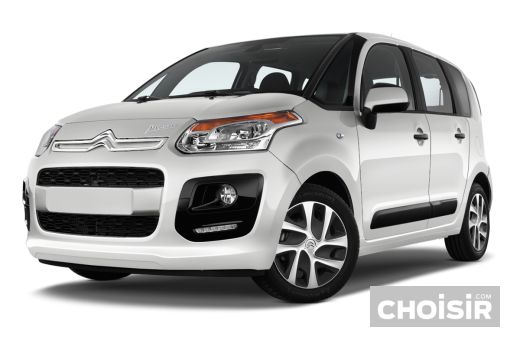 citroen c3 picasso hdi 90 exclusive prix consommation caract ristiques. Black Bedroom Furniture Sets. Home Design Ideas