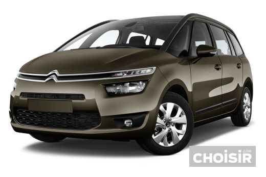 citroen grand c4 picasso 16v exclusive bmp6 prix consommation caract ristiques. Black Bedroom Furniture Sets. Home Design Ideas