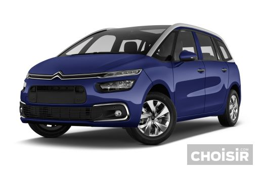citroen grand c4 picasso bluehdi 100 s s feel edition prix consommation caract ristiques. Black Bedroom Furniture Sets. Home Design Ideas