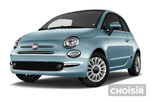 fiat 500 1 2 69 ch dualogic mirror prix consommation caract ristiques. Black Bedroom Furniture Sets. Home Design Ideas