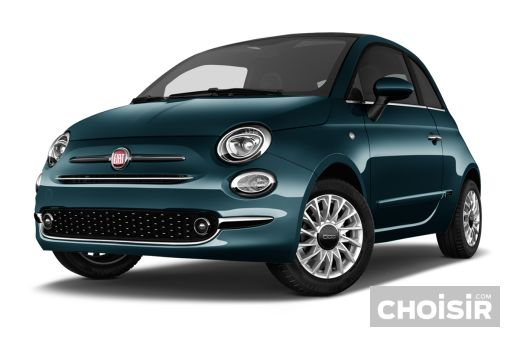 fiat 500 1 2 69 ch dualogic lounge prix consommation caract ristiques. Black Bedroom Furniture Sets. Home Design Ideas