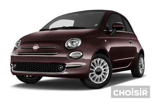 fiat 500 1 2 69 ch lounge prix consommation caract ristiques. Black Bedroom Furniture Sets. Home Design Ideas