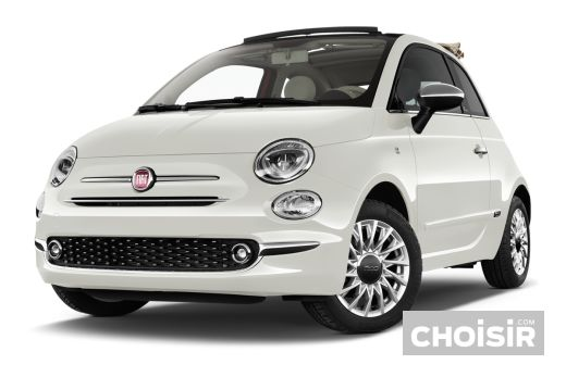 fiat 500c 1 2 69 ch riva avec volant bois prix. Black Bedroom Furniture Sets. Home Design Ideas