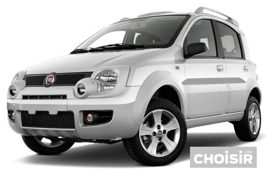 fiat panda cross 4x4 1 3 multijet 16v prix consommation caract ristiques. Black Bedroom Furniture Sets. Home Design Ideas