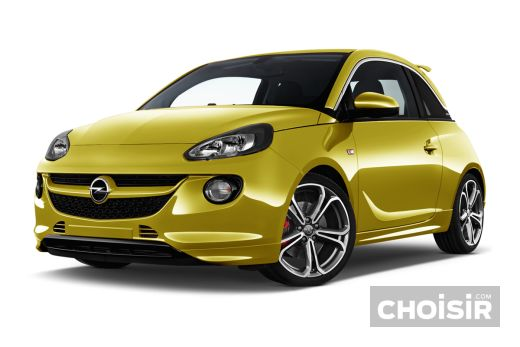 opel adam 1 2 twinport 70 ch jam prix consommation caract ristiques. Black Bedroom Furniture Sets. Home Design Ideas