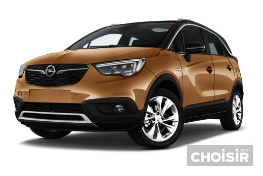 opel crossland x 1 2 turbo 110 ch ecotec innovation prix consommation caract ristiques. Black Bedroom Furniture Sets. Home Design Ideas