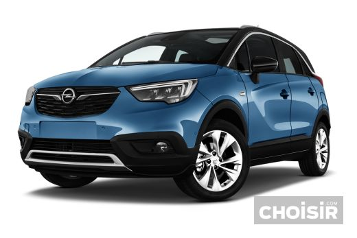 opel crossland x 1 2 turbo 110 ch bva6 ultimate prix consommation caract ristiques choisir. Black Bedroom Furniture Sets. Home Design Ideas