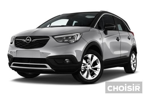 opel crossland x 1 2 turbo 110 ch ecotec edition prix consommation caract ristiques. Black Bedroom Furniture Sets. Home Design Ideas