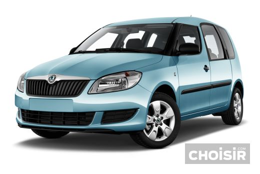 skoda roomster 1 6 tdi 105 cr visage prix consommation caract ristiques. Black Bedroom Furniture Sets. Home Design Ideas