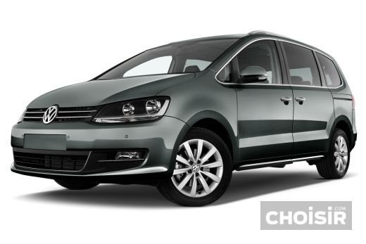VOLKSWAGEN SHARAN TDI FAP BlueMotion Technology Trendline - Monospace porte coulissante