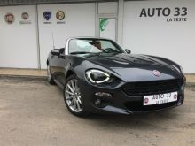 fiat 124 spider 1 4 multiair 140 ch prix consommation. Black Bedroom Furniture Sets. Home Design Ideas